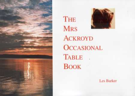 The Mrs Ackroyd Occasional Table Book